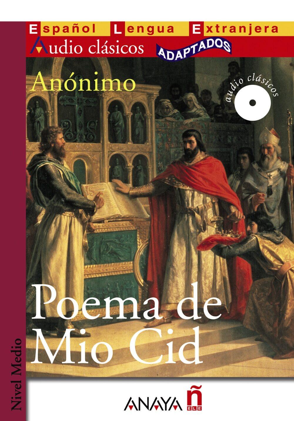 Poema De Mio Cid (lecturas Audio Clasicos Adaptados Nivel Medio) (espa - Anonimo