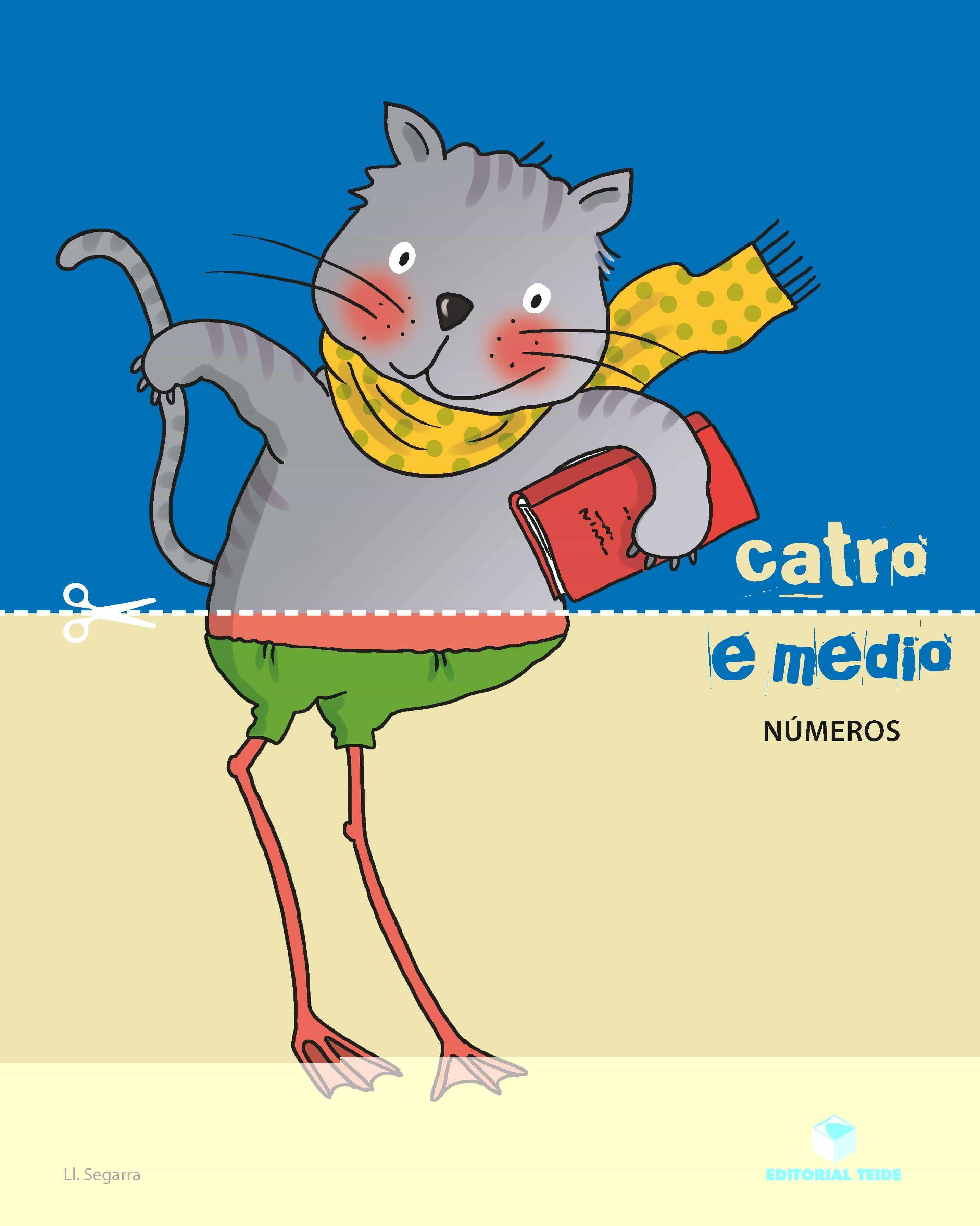 Catro E Medio Numeros Caderno Matematica 4 Anos Galicia Ed 2017 - Vv.aa.