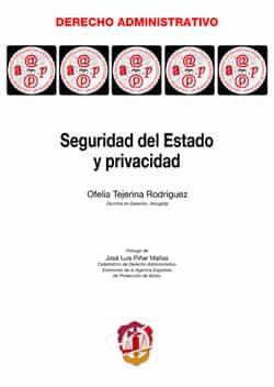 Seguridad Del Estado Y Privacidad - Tejerina Rodriguez Ofelia