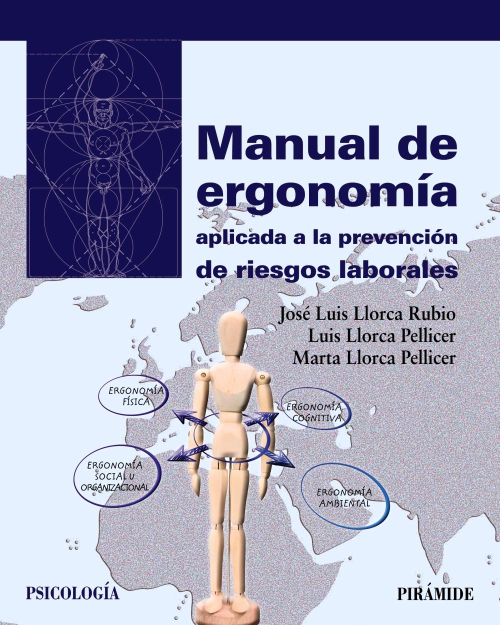 Manual De Ergonomia Aplicada A La Prevencion De Riesgos Laborales - Llorca Rubio Jose Luis