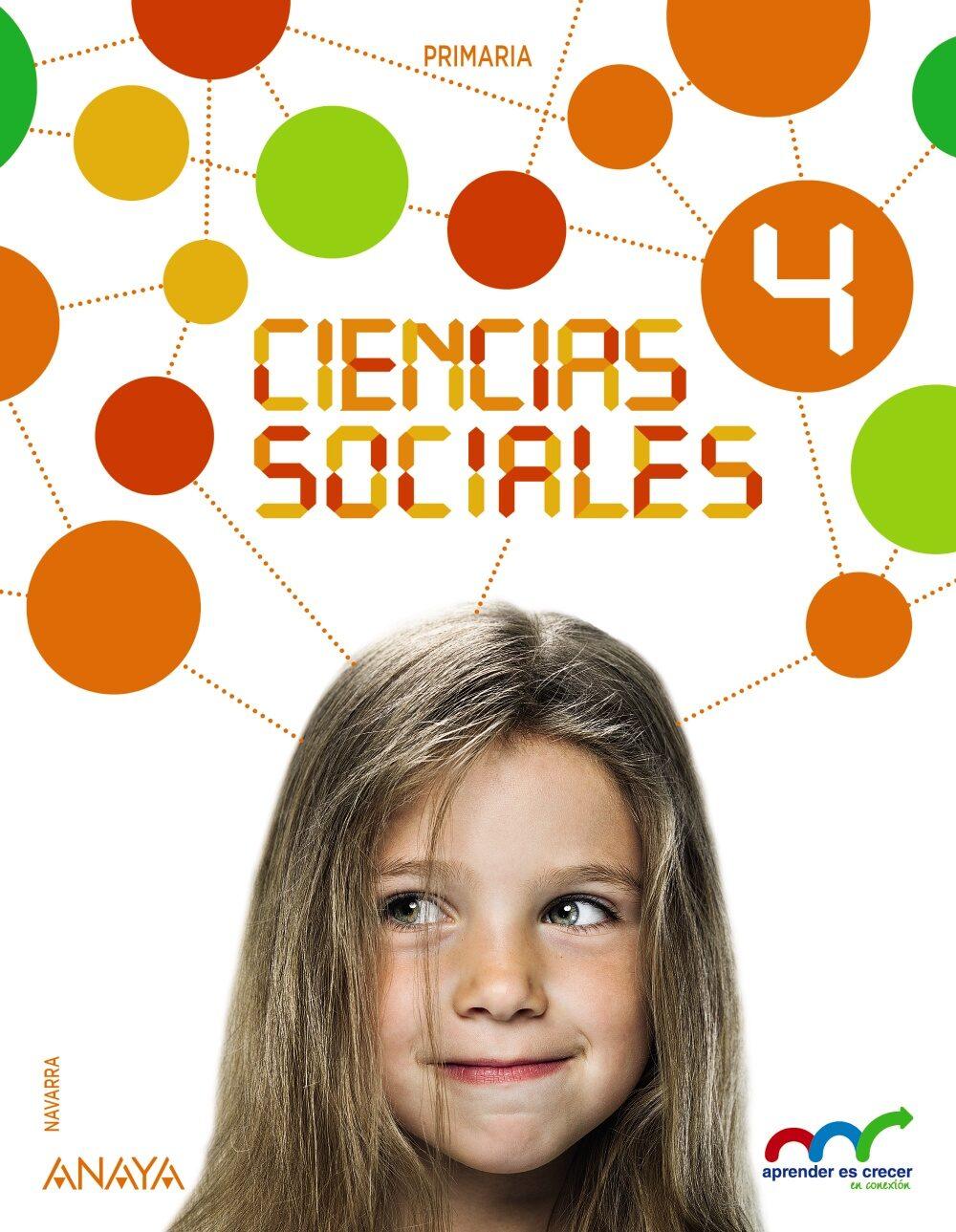 Ciencias Sociales 4º Educacion Primaria Navarra - Vv.aa.