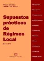 SUPUESTOS PRACTICOS DE REGIMEN LOCAL