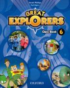 great explorers 6º primaria (class book) revised ed 2015-9780194820509