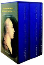 estuche ultimos años de casanova (3 vols.): historia de mi vida i y ii + utimos años de casanova-giacomo casanova-9788494227639