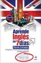 aprende ingles en 7 dias-ramon campayo-9788441419469