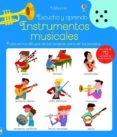 ESCUCHO Y APRENDO : INSTRUMENTOS MUSICALES di ROBSON, KRISTEEN