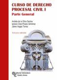 CURSO DE DERECHO PROCESAL CIVIL I (3ª ED.) di VV.AA.
