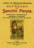 REFRANES DE SANCHO PANZA (ED. FACSIMIL DE LA ED. DE MADRID, 1905) di CERVANTES SAAVEDRA, MIGUEL DE