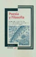 POESIA Y FILOSOFIA di VV.AA.