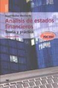 ANALISIS DE ESTADOS FINANCIEROS: TEORIA Y PRACTICA (2ª ED) di MUÑOZ MERCHANTE, ANGEL