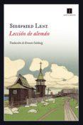 9788417115005 - Lenz Siegfried: Lección De Alemán (ebook) - Libro