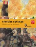 CIENCIAS SOCIALES ASTURIAS INTEGRADO SAVIA-15 6º EDUCACION PRIMARIA di VV.AA.
