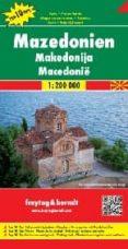 MACEDONIA, MAPA DE CARRETERAS (1:200.000) di VV.AA.