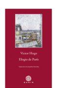 ELOGIO DE PARIS de HUGO, VICTOR