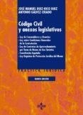 9788430972708 - Ruiz-rico Ruiz Jose Manuel: Codigo Civil Y Anexos Legislativos (5ª Ed.): Ley De Consumidores Y Usu - Libro