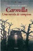 CARMILLA: UNA NOVELA DE VAMPIROS di LE FANU, JOSEPH SHERIDAN