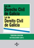 LEY DE DERECHO CIVIL DE GALICIA = LEI DE DEREITO CIVIL DE GALICIA (3ª ED ACTUALIZADA) (ED. BILINGÜE CASTELLANO-GALLEGO) di LORENZO MERINO, FERNANDO JOSE