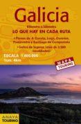 MAPA DE CARRETERAS GALICIA (DESPLEGABLE), ESCALA 1:340.000 (2ª ED .) 2018 (MAPA TOURING) di VV.AA.
