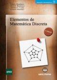Elementos De Matematica Discreta (3ª Ed.) - Sanz Y Torres