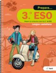 9788441230415 - Vv.aa.: Quadern Prepara Lengua Castellana 3º Eso Ed 2017 - Libro