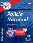 9788416963416 - Vv.aa.: Policía Nacional. Simulacros De Examen. 2017 - Libro