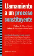 LLAMAMIENTO A UN PROCESO CONSTITUYENTE di VV.AA.