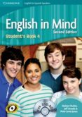 English In Mind For Spanish Speakers Level 4 Student S Book With Dvd-r