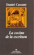 LA COCINA DE LA ESCRITURA de CASSANY, DANIEL