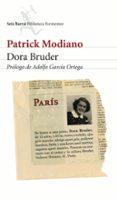DORA BRUDER de MODIANO, PATRICK
