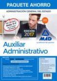 9788414207123 - Vv.aa.: Paquete Ahorro Auxiliar Administrativo Del Estado (incluye Temari Os 1 - Libro