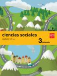 CIENCIAS SOCIALES 3º EDUCACION PRIMARIA INTEGRADO SAVIA ANDALUCIA ED 2015 di VV.AA.