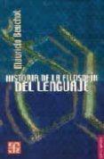 HISTORIA DE LA FILOSOFIA DEL LENGUAJE de BEUCHOT, MAURICIO