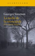 LA NOCHE EN LA ENCRUCIJADA de SIMENON, GEORGES