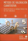 MÉTODO DE VALORACIÓN CUANTITATIVA di VV.AA.