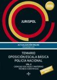TEMARIO OPOSICIÓN ESCALA BÁSICA POLICÍA NACIONAL (5ª ED.) di JURISPOL