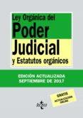 LEY ORGANICA DEL PODER JUDICIAL Y ESTATUTOS ORGANICOS (33ª ED.) di MORENO CATENA, VICTOR