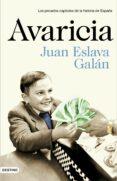 AVARICIA de ESLAVA GALAN, JUAN