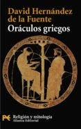 ORACULOS GRIEGOS di HERNANDEZ DE LA FUENTE, DAVID