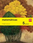 MATEMÁTICAS TRIMESTRES SAVIA 5º EDUCACION PRIMARIA ED 2014 CASTELLANO di VV.AA.