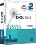 EXCEL 2016 PACK 2 LIBROS de RIGOLLET, PIERRE