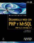 PROGRAMACION DESARROLLO WEB CON PHP Y MYSQL di WELLING, LUKE  THOMSON, LAURA