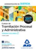 9788414202036 - Vv.aa.: Cuerpo De Tramitacion Procesal Y Administrativa (turno Libre) De La Ad - Libro