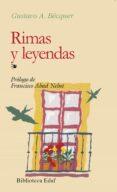 RIMAS Y LEYENDAS (7ª ED.) de BECQUER, GUSTAVO ADOLFO