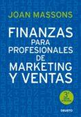 Finanzas Para Profesionales De Marketing Y Ventas - Deusto S.a. Ediciones