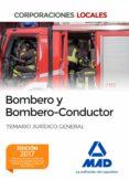 9788414202838 - Vv.aa.: Bombero Y Bombero-conductor. Temario Jurídico General - Libro