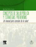 CONCEPTOS DE SALUD PUBLICA Y ESTRATEGIAS PREVENTIVAS + ACCESO ONL INE de MARTINEZ GONZALEZ, MIGUEL ANGEL
