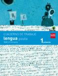 CUADERNO LENGUA 3º TRIMESTRE PAUTA SAVIA 1º EDUCACION PRIMARIA ED 2014 CASTELLANO di VV.AA.