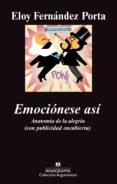 EMOCIONESE ASI di FERNANDEZ PORTA, ELOY