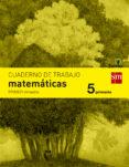 CUADERNO MATEMÁTICAS 1º TRIMESTRE SAVIA 5º EDUCACION PRIMARIA ED 2014  CASTELLANO di VV.AA