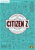 CITIZEN Z ELEM A2 STUDENT BOOK AUGMENTED REALITY di VV.AA